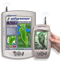Inforemer are the focal point of an information system that incorporates unique wireless technology, Internet protocols and the GPS.