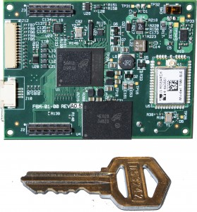 Freescale i.MX 6D based Fury-M6 SBC w key