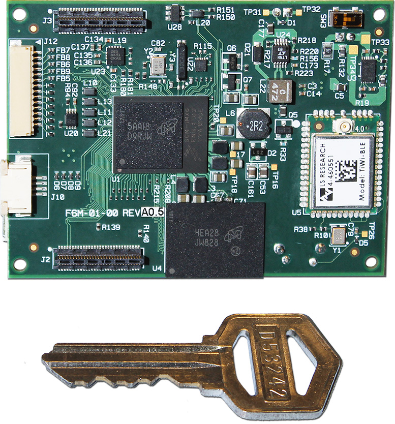 Fury-M6 featuring i.MX 6 Single Chip Module (SCM)